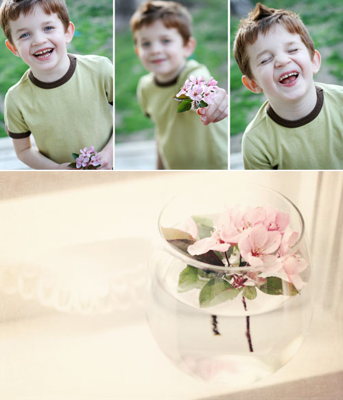 Flower-collage