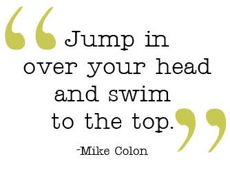 Swim-to-the-top